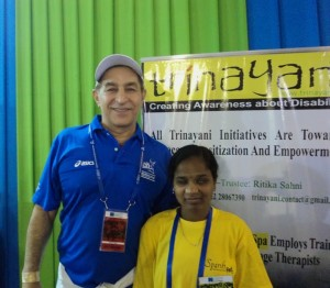 Bhagyashree with actor Dilip Tahil at SCMM 2012