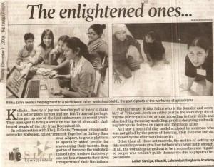 TRIUMPH TOGETHER press clipping 1