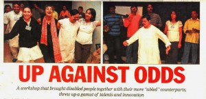 Up Against Odds - The Telegraph Kolkata