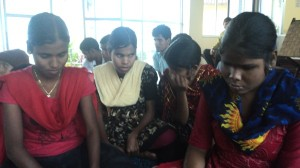 Students of Premashree picking up 2 songs for YHDMJ 2